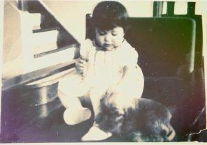 baby Adriana and Titina
